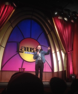 """Marty DeRosa...I loved the way you responded to the audience and depicted the """"working CTA train guy"""""""
