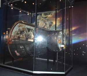 The Gemini XII capsule and...