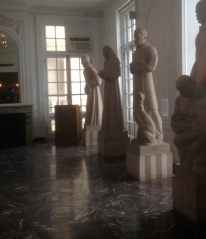 "A sculpture hall, ""Hall of the Immortals,"" honoring those who made major advances in medicine."