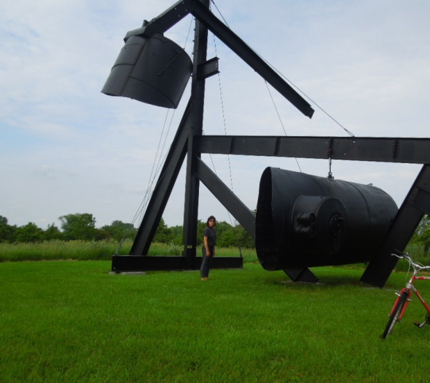 Yes! for Lady Day 1968-69 Artist: Mark di Suvero
