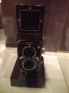 One of Maier's Rolleiflex Cameras