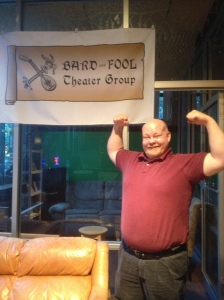 Feeling very strong, Doug Albers, Artistic Director of Bard and Fool Theater Group