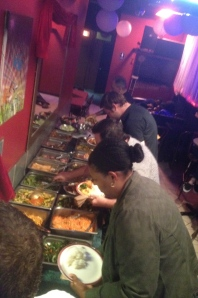 The Buffet!!! The infusion of Korean and Latino flavors…YUM!