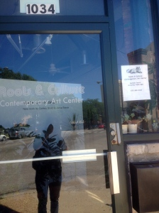 Less than 30 minutes later, first stop and bike swap. Roots & Culture Contemporary Art Center…closed. However, now I know the hours, Saturday 12-6pm. Next!...