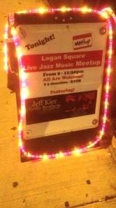 Last stop, Logan Square Studio, 2341 N. Milwaukee Ave.