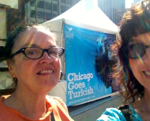 Although Betty helped me discover the festival my best bud mom shared the experience.