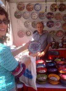 Beautiful handmade ceramics by Omurlu Ceramic, www.omurlu.com. Ozay Aksungur and his family have made ceramics since 1807.