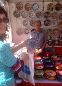 Beautiful handmade ceramics by Omurlu Ceramic, www.omurlu.com. Ozay Aksungur and his family have made ceramics since 1807.