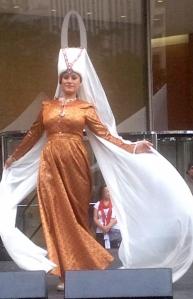 A Fashion Show by Izmir Olgunlasma Institute.