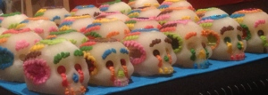 Hand made sugar skulls. This week there are demonstrations on how to make these, Sept. 23-25 at 10am.