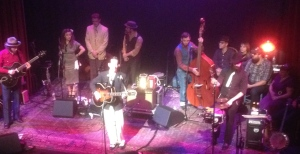 The Old Town School of Folk Music, Pokey Lafarge and the Central Time Tour (remember these guys from the Schlitz Bouts I went to a couple of months ago?)