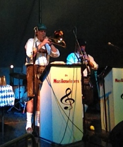 Getting my polka on with the Die Musikmeisters...