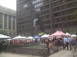 Daly Plaza, Farmers Market every Thursday until the end of October