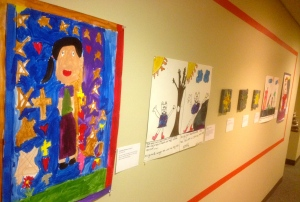 """A collaboration between LUMA and Saint Joseph Services Community Center. The Push Pin Gallery feature their """"Artistic Vision, Artistic Expression."""""""
