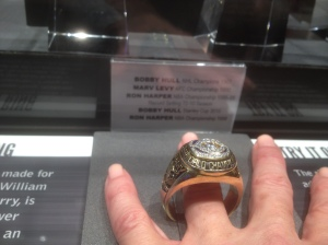 """A replica of Chicago Bear, William """"The Refrigerator"""" Perry's size 25 ring…whaaaa?"""