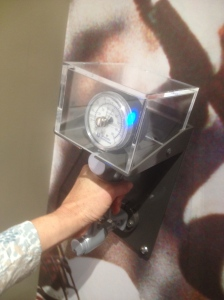 Handgrip strength? Weakling at best…5 lbs. Guard, Kyle Long of the Chicago Bears grip was off the gage as he measured well past a man's average of 113 lbs.