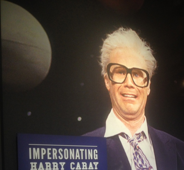 Apparently Harry Caray said some pretty outrageous things during his broadcasting career and has been impersonated by the best