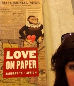 The Newberry Library, 60 West Walton Street, Love on Paper Exhibition-Thursday, January 15-Saturday, April 4