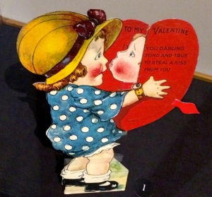 Valentine greetings from the late 1800's