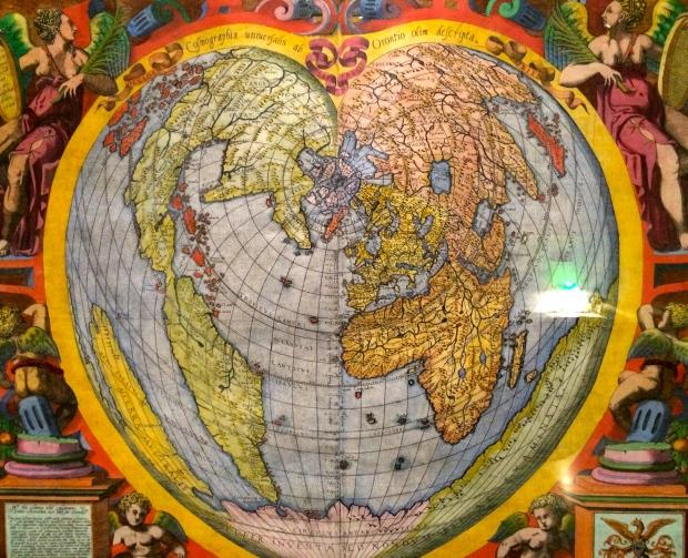 1566 Heart shaped map