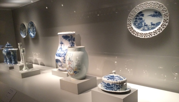 Decorative Earthenware ceramics or Delft (Dutch and English)