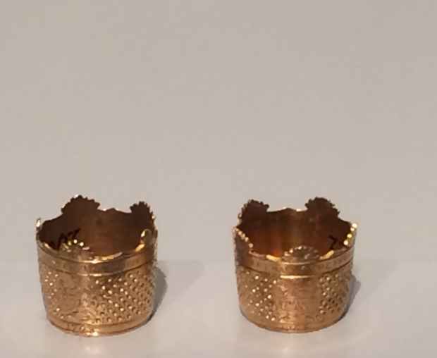 these thimbles are my favorite and leads me to the textiles. 1768