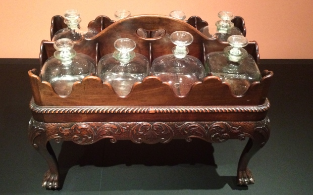 Decanter Stand About 1760