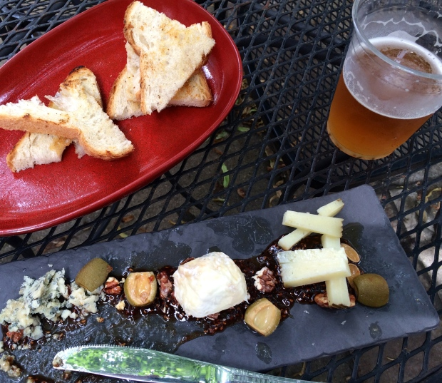 Before my family arrived I biked the lake and headed over to my favorite cafe, The Spoke & Bird 205-209 E 18th St, for a delicious cheese plate.
