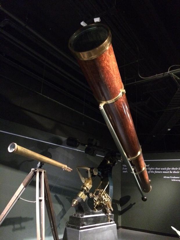 Alvan Clark & Sons refracting telescope, 1865