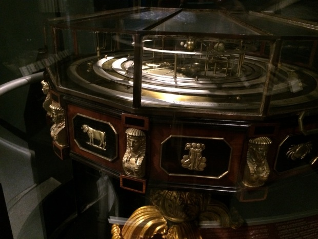 A Cosmological Model displayed in the new Copernican arrangement. Built around 1740