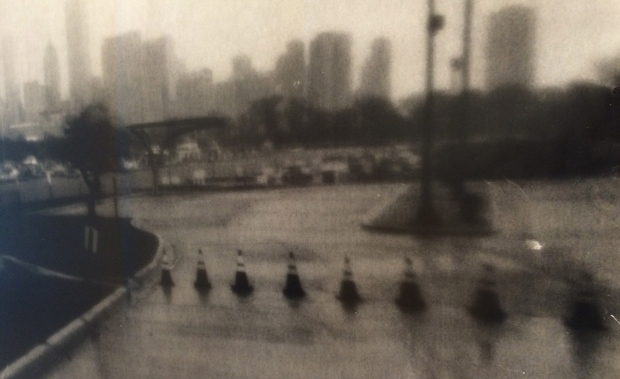 Storm from Northerly Island (Nick's Shot) 2014 Gelatin Silver Print