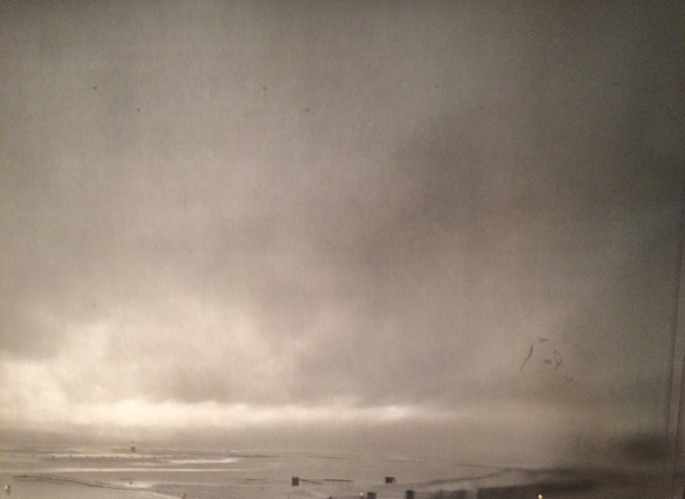 Storm Clouds over Carter H. Harrison/William E. Denver Crib 2014 Gelatin Silver Print