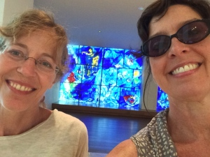 Marc Chagall's exquisite  American Windows led us to a very special exhibition at The Art Institute of Chicago