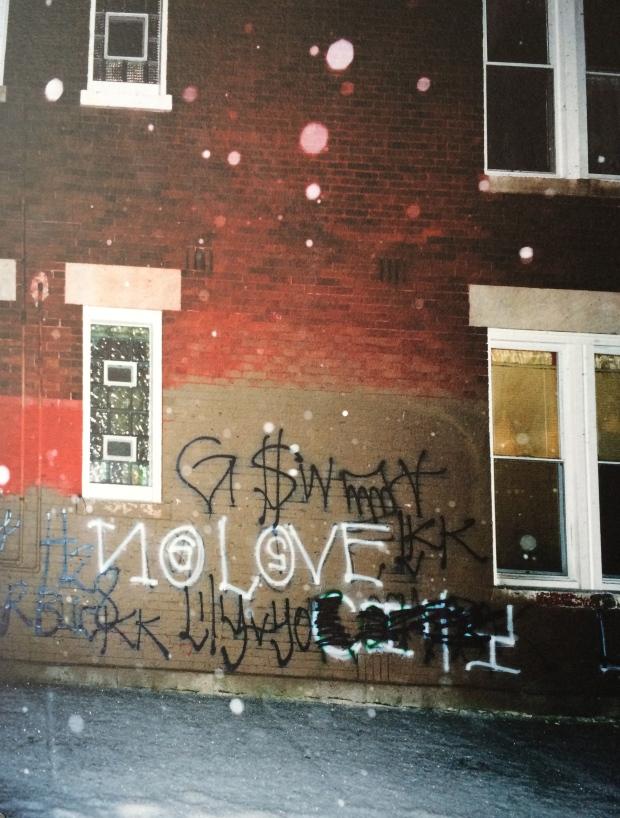 No Love, Edition of 10, 2012