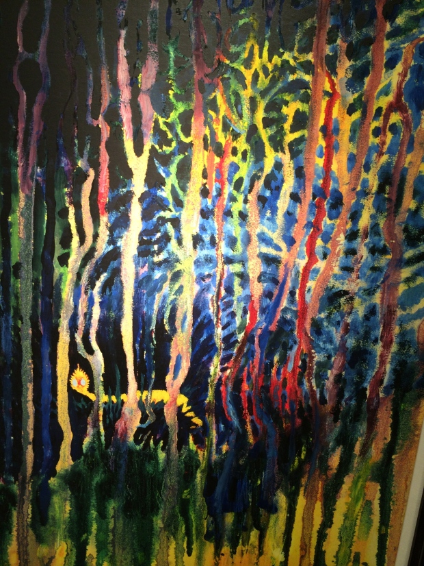 Worm Burning Bright in the Forest in the Night