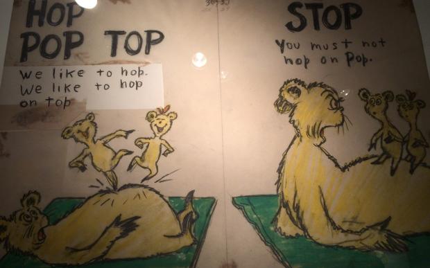 Hop Hop Top-Diptych