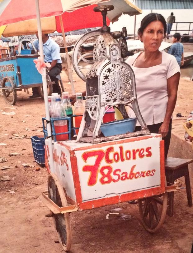 Iquitos Beach Vendor