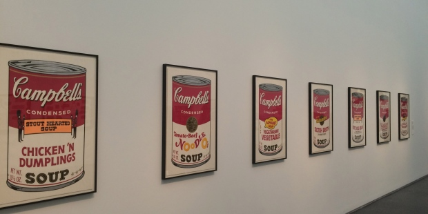 Andy Warhol, Campbell's Soup Cans II, 1969, screen prints on paper