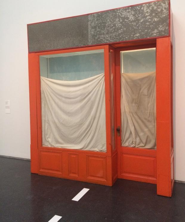 Christo, Orange Store Front, 1964-65