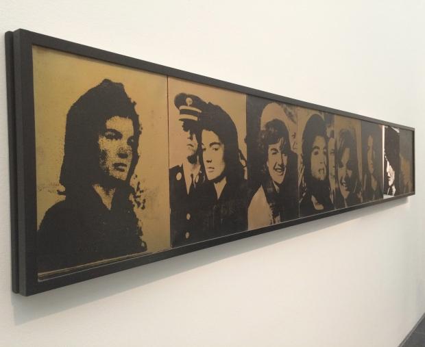 Andy Warhol, Jackie Frieze, 1964, silk-screen on linen