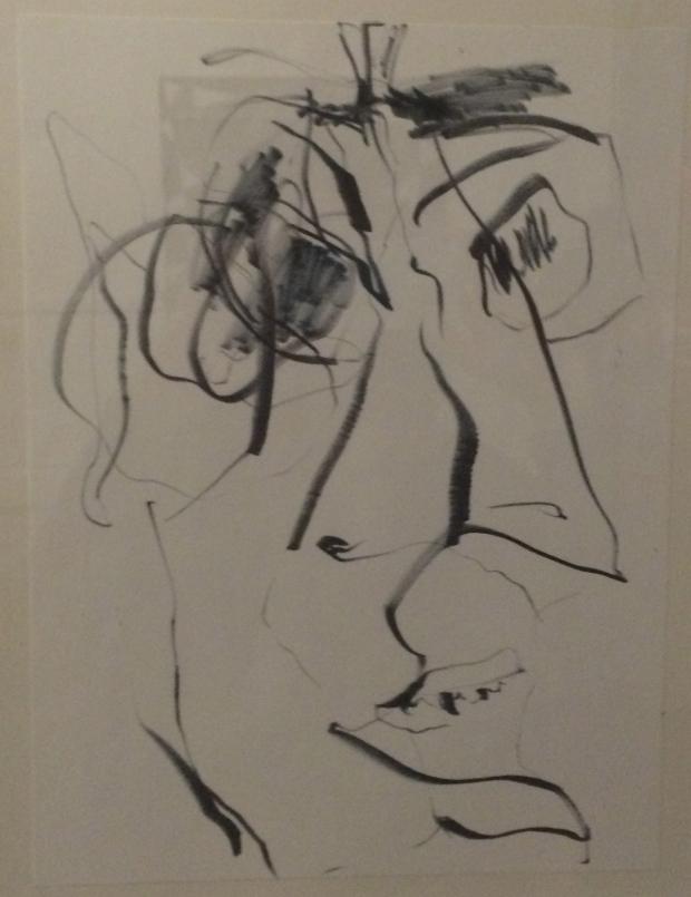 Dimitri Pavlotsky, Changing Mind, archival ink marker on paper, 2015