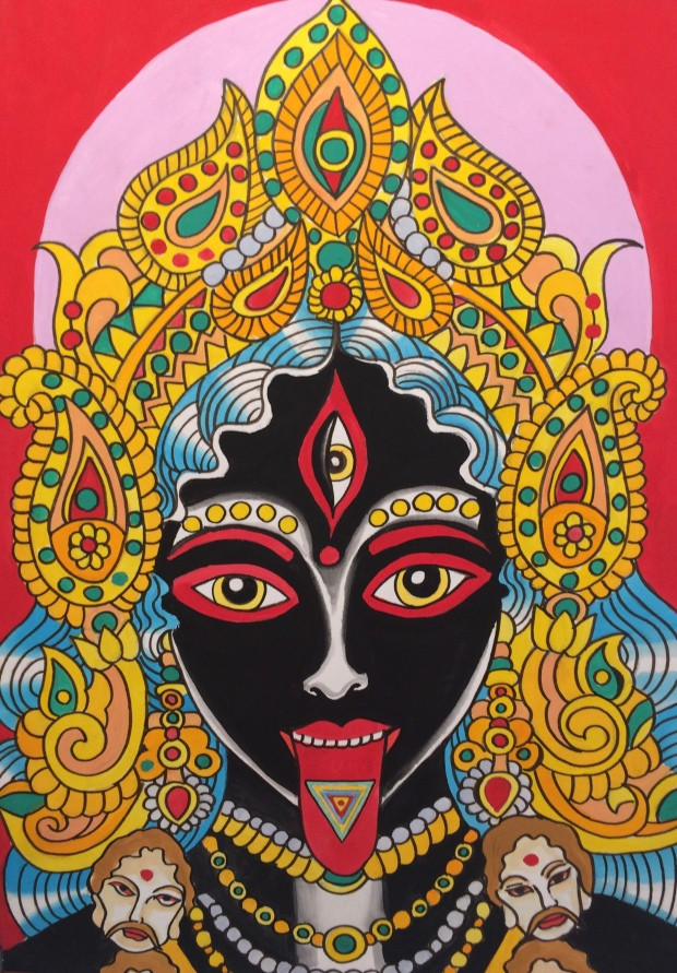 Maha Smashan Kali