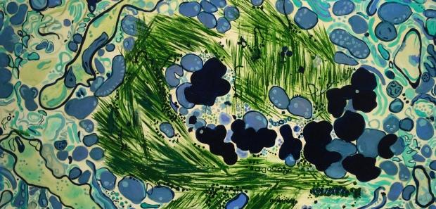 Lewy Body Amy Zucker 2016 oil on masonite