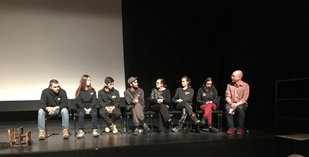 Silencio Blanco Puppeteer group with cofounders, Santiago Tobar and Dominga Gutiérrez